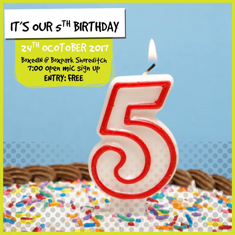 BoxedIN [5th Anniversary]